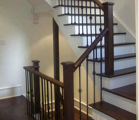 Premium stairs and railings - Interior stair railing contractors ...